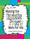 Making the Distributive Property Work for You
