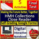 Making the Future Better, Together 9th Grade HMH Collections Close Reader HRW