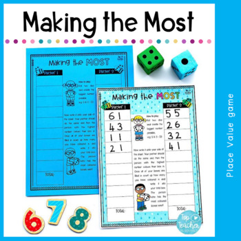 Making the Most - place value game