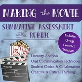 Making the Movie Creative Summative Assessment for any Fic