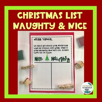Making the Nice List - Behavior Reflection