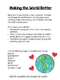 Making the World Better- A Kindness Writing Project