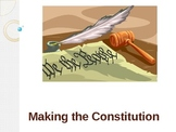Making the constitution - Powerpoint