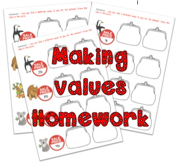 Making values for prices homework