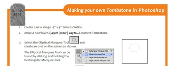Making your own Tombstone in Photoshop
