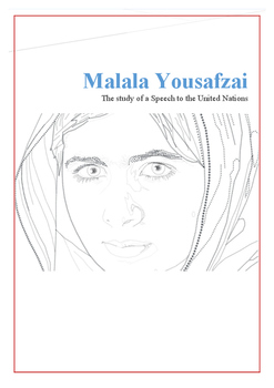 Malala Yousafzai Speech Lesson
