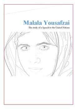 Malala Yousafzai Speech Lesson