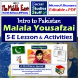 Malala: Education in Pakistan - Complete 5-E Lesson with V