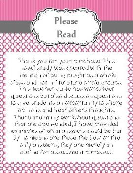 Malala Novel Study