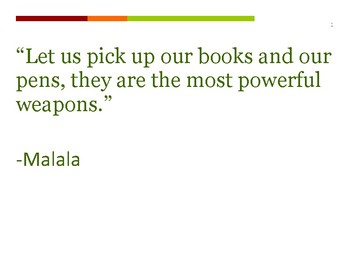 Malala Quotes Posters