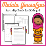 Malala Yousafzai Activity Pack