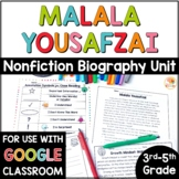 Malala Yousafzai: Nonfiction Close Read Text Unit