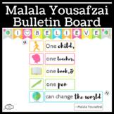 Malala Yousafzai Bulletin Board