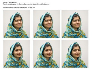Malala Yousafzai Comic Strip and Storyboard
