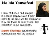 Malala Yousafzai Informative Guide