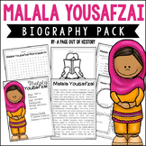 Malala Yousafzai Biography Pack | Distance Learning