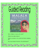 Malala Yousafzai, Warrior with Words - Guided Reading