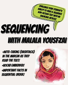 Malala Yousfzai Sequencing Article / Passage