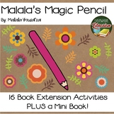Malala's Magic Pencil 16 Book Extension Activities PLUS Mini Book