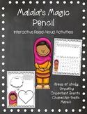 Malala's Magic Pencil - Interactive Read Aloud Activities