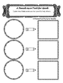 Malala's Magic Pencil Companion Packet