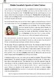 Malala's Speech - Reading