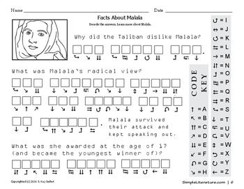 Malala, the Taliban, and Education - FREE Venn Diagram and Puzzle