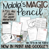 Malala's Magic Pencil FULL DAY of Lesson Plans for Distanc