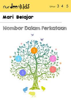 Malay Worksheet (Nombor Dalam Perkataan)