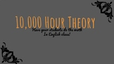 Malcolm Gladwell's Outliers: 10,000 Hour Theory