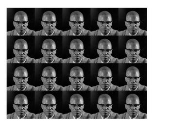 Malcolm X Historical Stick Figure (Mini-biography)