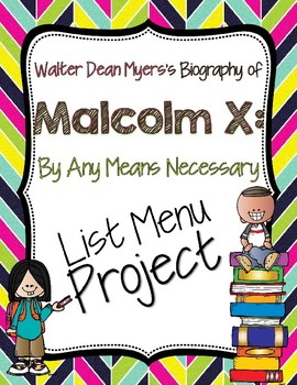 Malcolm X List Menu Project
