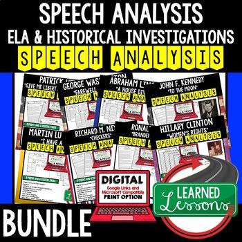 Robert F. Kennedy MLK Assassination Speech Analysis and Writing Activity, Google