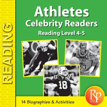 Male Athletes: Celebrity Readers