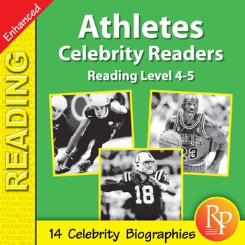 Male Athletes: Celebrity Readers - Enhanced