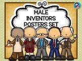 Male Inventors Posters Set