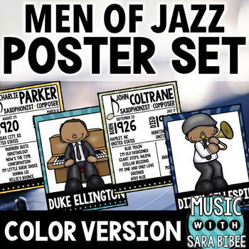 Male Jazz Artists- Posters and Handouts