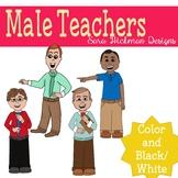 Male Teachers Clipart