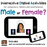Male or Female (He/She) ⋅ Digital PDF ⋅ Interactive Activi
