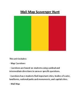 Mali Map Scavenger Hunt