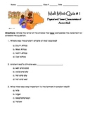 Mali Quiz #1