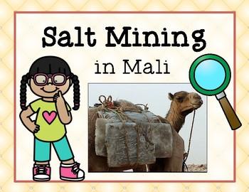 Mali Salt Mining FREEBIE