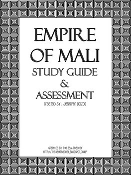 Mali Study Guide and Assessment