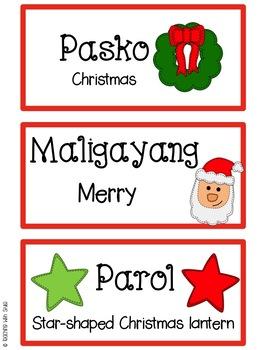Maligayang Pasko! A Filipino Christmas