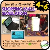 Financial Literacy Activity - Money Mall Simulation - Full Week of Math Fun