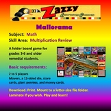 Mallorama Folder Game Math Multiplication Review