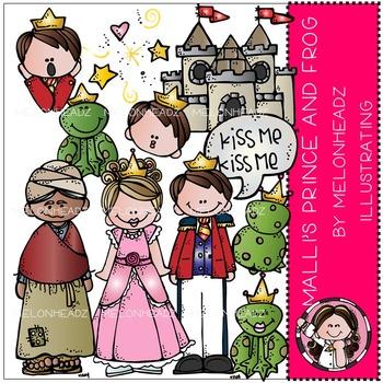 Mallori's Frog Prince clip art - by Melonheadz