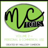 Mallory Cameron Fonts - Volume 2