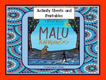 Malu Kangaroo Activity Sheets and Printables