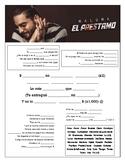 Maluma - El Préstamo Cloze Song Sheet